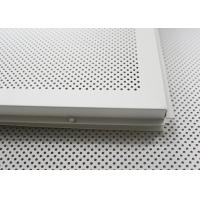 Buy cheap Fireproof dropped acoustical ceiling tiles Lay In for building Suspended Ceiling tiles 2x4 from wholesalers