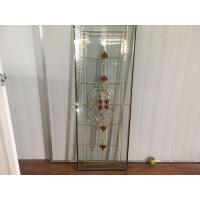 Buy cheap Clear Bevel Glass Door Panels Thermal Sound Insulation Various Shape from wholesalers