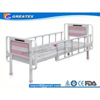 Buy cheap Heavy Load Nursing Medicare hospital beds with rails , Bedside cabinet and Mattress from wholesalers