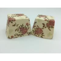 Buy cheap Red Rose Flower Floral Square Cupcake Liners Muffin Case Decoration Food Grade Paper from wholesalers