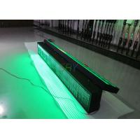 Buy cheap Energy - saving Message Double Sided Green scrolling led sign on the Highway Traffic from wholesalers