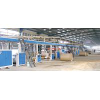 Buy cheap 3/5/7 ply corrugated cardboard production line from wholesalers