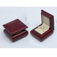 Buy cheap wooden ring box in high gloss finish from wholesalers