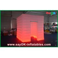 Buy cheap Indoor Outdoor Custom Inflatable Advertising Photo Booth / Kiosk Print Logo from wholesalers