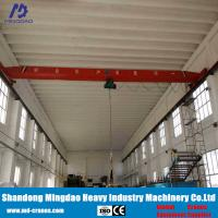 Buy cheap Remote Radio Control 10 Ton Overhead Crane Include Rails and Power Suplly Bus Bar from wholesalers