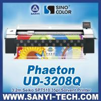 Buy cheap Phaeton UD-3208Q Digital Solvent Printer,  with SPT510 35PL Head. 3.2 m from wholesalers