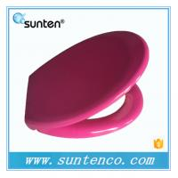 Buy cheap Xiamen Oval Soft Close Universal Round WC Purple Toilet Seat from wholesalers