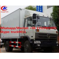 Buy cheap High quality and competitive price dongfeng 10tons 170hp diesel cold room truck for sale, refrigerator van truck from wholesalers