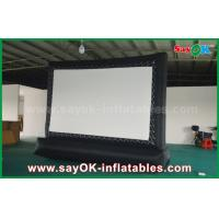 Buy cheap 5 X 3m Oxford Cloth Outdoor Inflatable Billboard Movie Screen from wholesalers