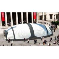 Buy cheap Large Beetle White Inflatable Structure Building With Brand Printing For Event from wholesalers
