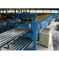 Buy cheap Profiled Steel Sheet Floor Decking Panel Roll Forming Machine Feeding Width 1220mm from wholesalers