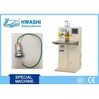 Buy cheap Terminal Copper Wire Spot Welding Machine , Stainless Steel Spot Welder from wholesalers