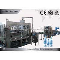 Buy cheap Full Automatic Beverage Production Line With Bottle Label Shrink Machine from wholesalers