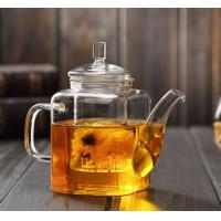 Buy cheap Hot Selling 11oz 12oz Direct Fire Heating High Borosilicate Glass Brewing Teapot from wholesalers