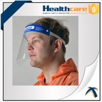 Buy cheap Hospital Protection Disposable Full Face Shields , Safety Medical Face Shield Visor from wholesalers