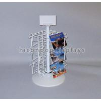 Buy cheap Retail Metal Spinner Display Rack Countertop , Spinning Book Rack For Postcard from wholesalers