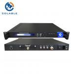 Buy cheap Digital Tv Encoder Modulator , SD HD SDI To DVB S2 Encodulator COL5011U from wholesalers