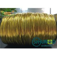 Buy cheap Polyester Cotton Mixed Garments Accessories Gold and Silver Elastic String Cord Thread from wholesalers