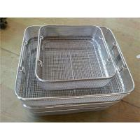 Buy cheap Customize Small Silver Stainless Steel Wire Metal Traditional Chips Fries Serving Basket from wholesalers