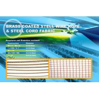 Buy cheap steel cord fabric 2+2×0.38HT strong steel Use for the base of raised edge conveyor belt from wholesalers