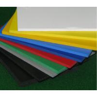 Buy cheap Advertising Outdoor Wall PVC Sheet , Sound Insulated Fire Retardant PVC Sheet from wholesalers