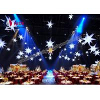Buy cheap Weeding Inflatable LED Star , Spiky Stars Inflatable Balloon Free Shipping from wholesalers