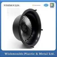 Buy cheap Rapid Injection Molding Black Household Products Electric Fan Cover Plastic Parts from wholesalers