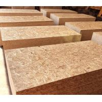 Natural Wood Color Oriented Strand Board 9 - 20mm Thickness With Polished Surface