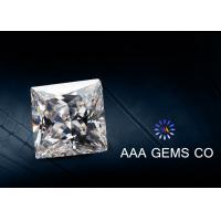 Buy cheap Colorless Square Moissanite Diamonds Forever Brilliance Grade from wholesalers