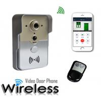 Buy cheap 720P Wireless Wifi Video Doorbell With Free P2P Cloud Record Alarm Information from wholesalers