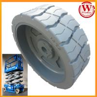 Buy cheap Non-marking Grey Genie 105454 Scissor Lift Wheel Tires 15x5 product