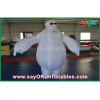 Buy cheap Inflatable Baymax Mascot Costume / Inflatable Robot Baymax for kids amusement park from wholesalers