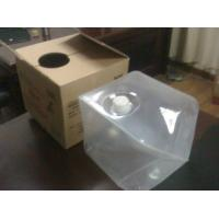 Buy cheap 4L to 20L Cube Collapsible Plastic Container, LDPE Medical Gel Containers product