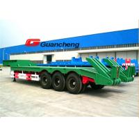 Buy cheap 3 Axle 60 Ton Low Bed Semi Trailer With 16 Mpa Rated Pressure 27.85 KW Total Power from wholesalers