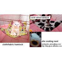 Buy cheap cotton nest,fabric hammock,canvas bed,coral velvet,pile coating,pet accessories from wholesalers