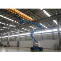Buy cheap 2 Man Small Boom Lift , Aerial Lift Equipment 80 Ft Hydraulic Type High Reach from wholesalers