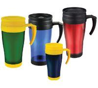 Buy cheap Double-wall plastic travel mug ( car cup ) product