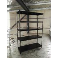 Buy cheap Slotted Angle Steel Light Duty Shelving Black / Grey / White in Storage Systems from wholesalers