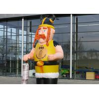 Buy cheap Customized Inflatable Viking Doll Giant 420D Oxford Cloth For Outdoor Event from wholesalers