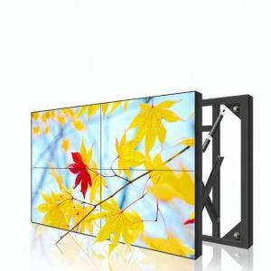 Buy cheap Flat Lcd Video Wall 55 Inch 3.5mm 3*3 1080P 4k Resolution Ultra Slim product