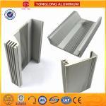 Buy cheap Building Aluminum Heatsink Extrusion Profiles Good Heat Insulation Performance from wholesalers