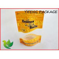Buy cheap Customized Fish Lure Clear Window Plastic Stand Up Bags , Zipper Top product