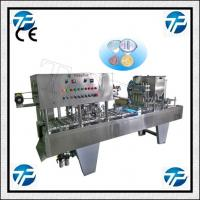 automatic cup filling and sealing machine