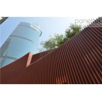 China Terracotta Architectural Facade Systems panels and baguette easy installation new trendy material on sale