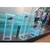 Buy cheap Light Blue Window Display Decorations Acrylic Ice Cube For Displaying Shoes from wholesalers