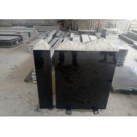 Buy cheap European Style Granite Memorial Headstones Black Galaxy / Other Color from wholesalers