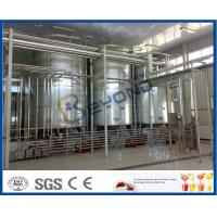 Buy cheap Full Auto Milk Manufacturing Plant , Yoghurt Processing Line Yogurt Making Machine from wholesalers