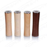 Quality Cylinder Waistline Wooden Portable Power Bank 2600mAh, External Battery Pack for sale