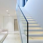 Buy cheap Frameless Glass Balcony Railing / Aluminum U Channel Glass Balustrade from wholesalers