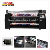 Buy cheap DX7 Print Heads Digital Flag Printer 2.2m Print Width For Fabric Directly Printing from wholesalers